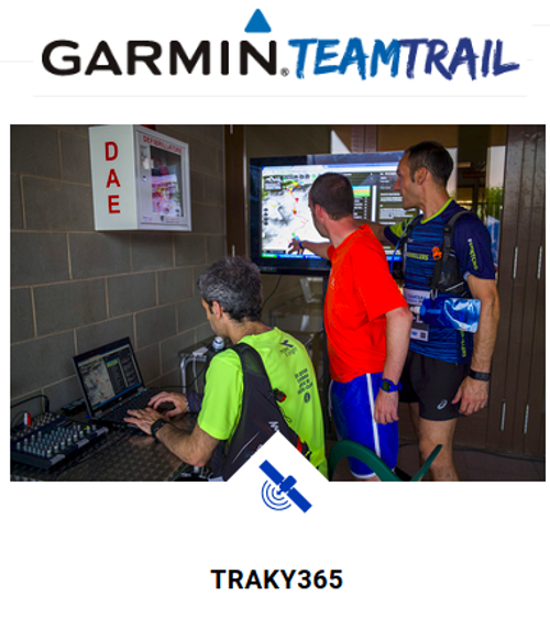 traky365 y Garmin Team Trail